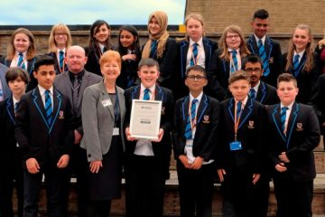 National accolade awarded to Newsome High School and Sports College